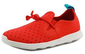 Native Apollo Moc Youth Round Toe Synthetic Red Sneakers.