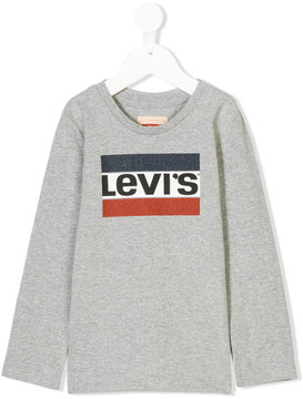 Levi's Kids branded long sleeve T-shirt