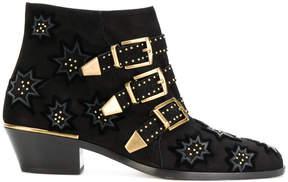 Chloé Susanna micro-studded booties