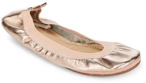 Yosi Samra Women's Leather Ballet Flats