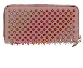 Christian Louboutin Women's Pink Leather Wallet.