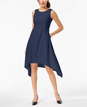 Alfani Sleeveless Asymmetrical Pocket Dress, Created for Macy's