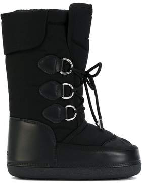 DSQUARED2 lace-up snow boots