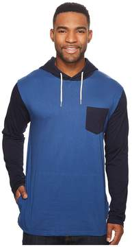 DC Rellin Long Sleeve Jersey Hooded Top Men's Long Sleeve Pullover