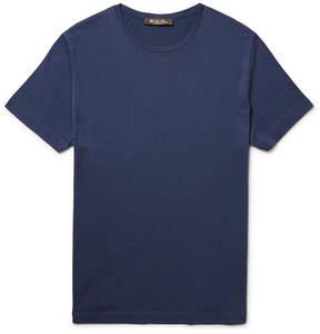 Loro Piana Slim-Fit Silk And Cotton-Blend T-Shirt