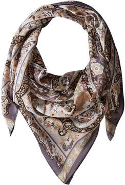 Collection XIIX Folk Paisley Square Scarves