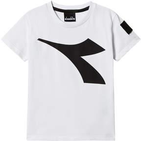 Diadora White Logo T-Shirt