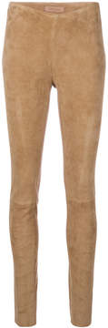 Drome skinny mid-rise trousers
