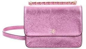 Tory Burch Crinkle Metallic Shoulder Bag - METALLIC - STYLE