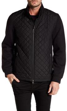 Bugatchi Long Sleeves Padded Contrast Sleeve Jacket