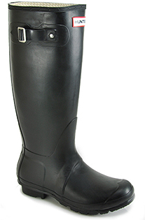 Hunter Wellington - Rubber Rain Boot