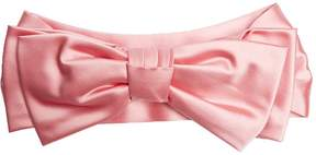 GUCCI Oversized-bow silk headband