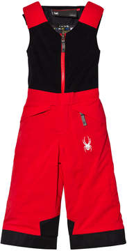 Spyder Red Colour Block Mini Expedition Boys Pant