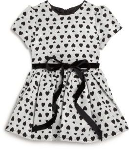 Halabaloo Toddler's & Little Girl's Allover-Heart Party Dress