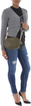 Michael Kors Ginny Medium Shoulder Bag - VERDE MILITARE - STYLE
