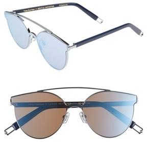 Gentle Monster Women's Tilda Swinton X Trick Of The Light 60Mm Shield Sunglasses - Blue Mirror
