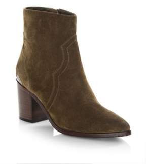 Frye Suede Point Toe Booties