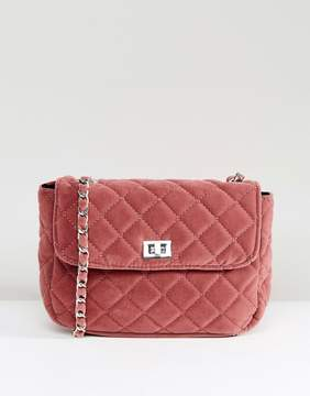Pieces Quilted Bag with Chain Detail