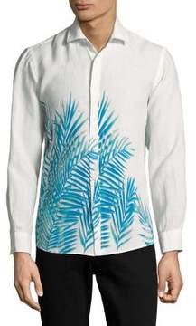 Black & Brown Black Brown Sunseeker Linen Button-Down Shirt