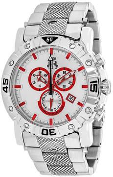 Jivago Mens Silver Tone Bracelet Watch-Jv9128xl