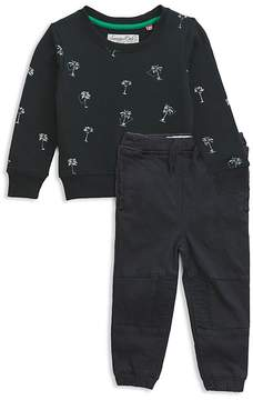 Sovereign Code Boys' Palm Tree Sweatshirt & Jogger Pants Set - Baby