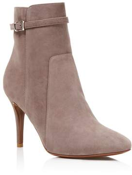 Charles David Prism Suede High Heel Booties