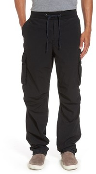 James Perse Men's Contrast Waist Cargo Pants