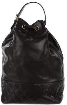 Chanel Caviar Drawstring Backpack