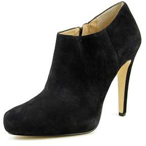 INC International Concepts Bellona Leather Stiletto Booties.