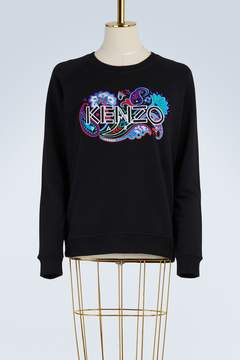 Kenzo Paisley cotton sweatshirt