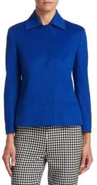 Akris Punto Wool Snap-Front Jacket
