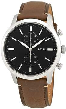 Fossil Townsman Chronograph Black Dial Men's Watch