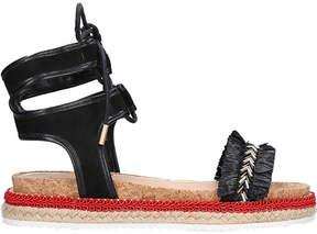 Miss KG Pebble tie-up sandals