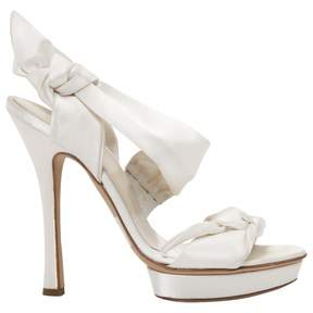 Alberta Ferretti Cloth sandals