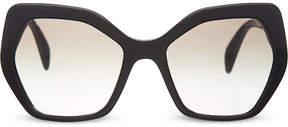 Prada PR16R irregular sunglasses