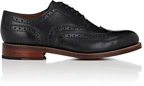 Grenson MEN'S ANGUS LEATHER WINGTIP BALMORALS
