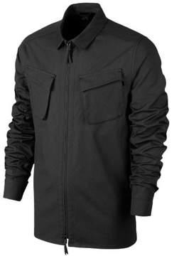 Nike Men's SB Vista Long Sleeve Woven Skateboarding Shirt-Black-Large