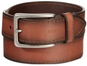 Tommy Hilfiger Mens Vegetable Leather Belt