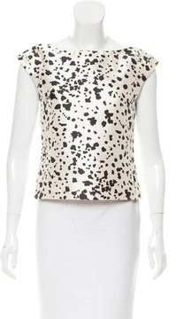 Behnaz Sarafpour Silk Sleeveless Top