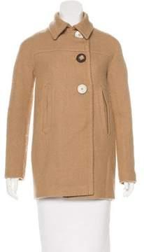 Agnona Wool Tweed Coat