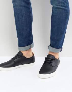 Lacoste Espere Leather Sneakers In Black