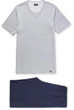 Hanro Night And Day Cotton-Jersey Pyjama Set