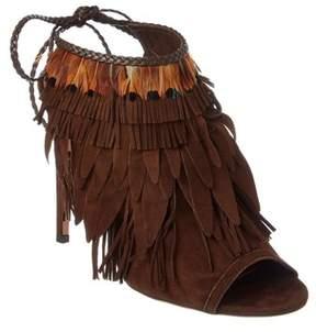Aquazzura Pocahontas 105 Suede Boot.
