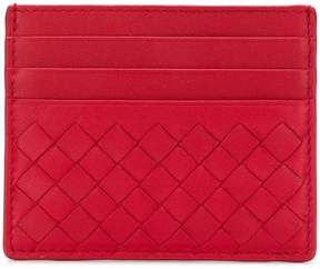 Bottega Veneta China red nappa card case