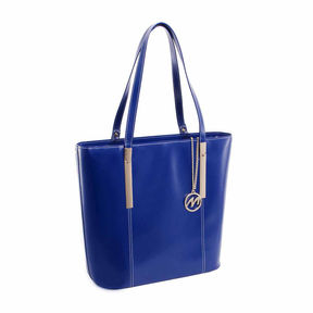 Mcklein McKleinUSA Cristina Leather Tote with Tablet Pocket
