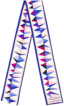 Emilio Pucci printed skinny scarf
