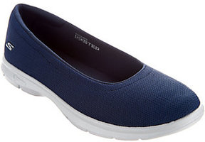 Skechers As Is GO STEP Mesh Ballet Slip-On Shoes - Luxe