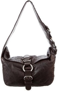 Sigerson Morrison Anaconda Shoulder Bag