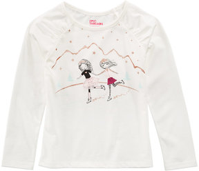 Epic Threads Mix and Match Long-Sleeve Ice Skaters T-Shirt, Toddler Girls (2T-5T), Created for Macy's