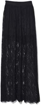 Fleur Du Mal Black Lace Skirt